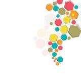 Color molecular structure Stock Photos