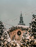 Moscow Red Square New Year stock photography