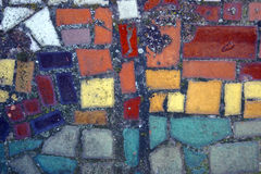 Color mosaic Royalty Free Stock Photo