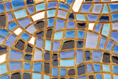 Color mosaic. Design color mosaic, dark and blue Stock Photography