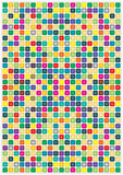 Color Mosaic Royalty Free Stock Photography
