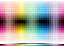 Color Mosaic Royalty Free Stock Images