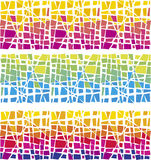Color mosaic. Vector illustration of colour mosaic Royalty Free Stock Photos