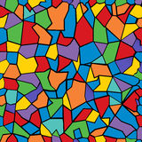 Color mosaic. Colored mosaic background. Abstract asrt Royalty Free Stock Photo