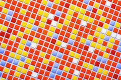 Color mosaic. A lot of colors Royalty Free Stock Photos