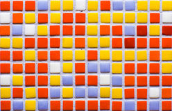 Color mosaic. A lot of colors Royalty Free Stock Image