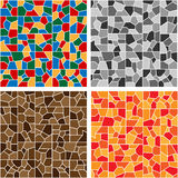 Color mosaic Stock Images