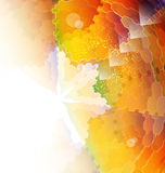 Color mosaic abstraction template Royalty Free Stock Photo