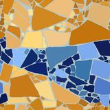 Color mosaic background stock photos