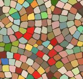 Color mosaic background stock photo