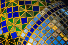 The color mosaic glass Royalty Free Stock Photography
