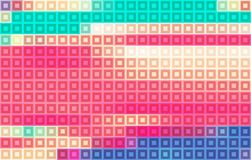 Color mosaic. Pixelated vector pattern Stock Photo