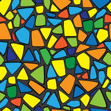 Color mosaic of seamless pattern Stock Photography