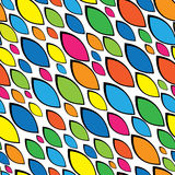 Color mosaic of seamless pattern Royalty Free Stock Photos