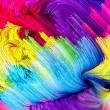 Synergies of Liquid Color Royalty Free Stock Images