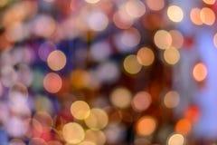 Color multi del bokeh Foto de archivo libre de regalías