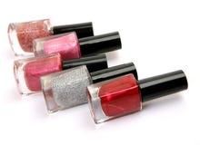 Color nail polish Stock Image