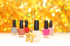 Color nail polish Royalty Free Stock Photos