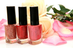 Color nail polish Stock Photo