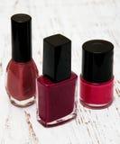 Color nail polish Stock Photography