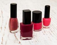 Color nail polish Royalty Free Stock Photography