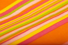 Color napkin background Royalty Free Stock Photo