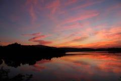 Color natural en cielo Fotografía de archivo
