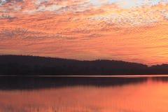Color natural en cielo Imagen de archivo