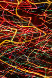 Color neon streaks of light glow lines Stock Photos