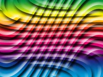 Color net. Abstract colored net illustrated background Stock Photos