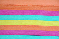 Color note paper texture Royalty Free Stock Images