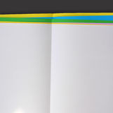 Color note papers Stock Image
