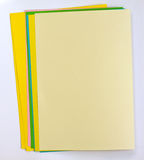 Color note papers Stock Photos