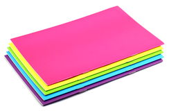 Color Notebook Royalty Free Stock Images