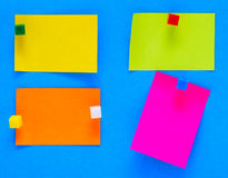 Color notes Royalty Free Stock Photo