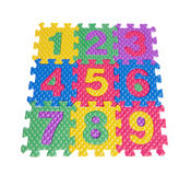 Color numbers Stock Photo
