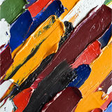 color oil paint as background Stock Photos