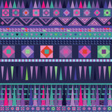 Color ornamental  motive blue pattern Royalty Free Stock Photography