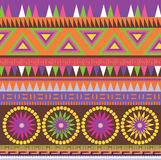 Color ornamental  pattern Stock Photos