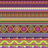 Color ornamental  print Stock Image