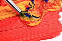 Color Paint Royalty Free Stock Photography