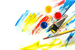 Color paint background Royalty Free Stock Photography