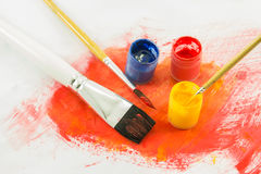 Color paint background Royalty Free Stock Photos
