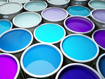 Color paint background Stock Photography