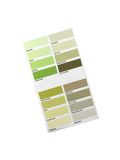 Color Paint Chart Stock Photography