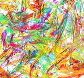 Color Paint Splatter Chaos Abstract. Paint splatter chaos abstract, many color horizontal background Royalty Free Stock Image