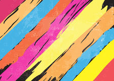 Color paint stripe background Royalty Free Stock Photography