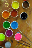 Color painting Royalty Free Stock Image