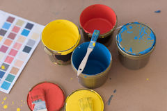 Color for painting Stock Photos