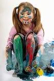 Color paints Stock Photo